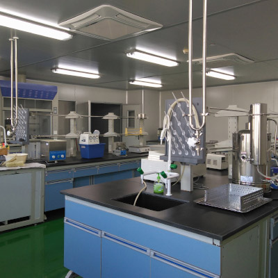High standard 10000 level laboratory and GMP workshop